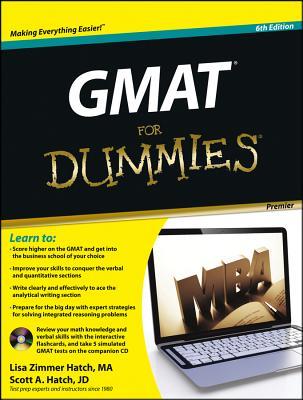 GMAT for Dummies By Hatch, Lisa Zimmer/ Hatch, Scott